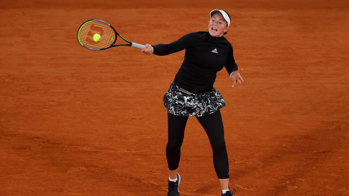 Jelena Ostapenko à Roland-Garros 2020