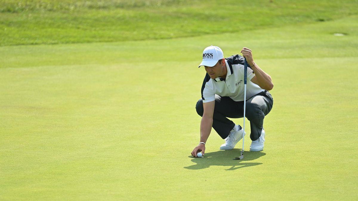 Martin Kaymer in Aktion bei den Irish Open