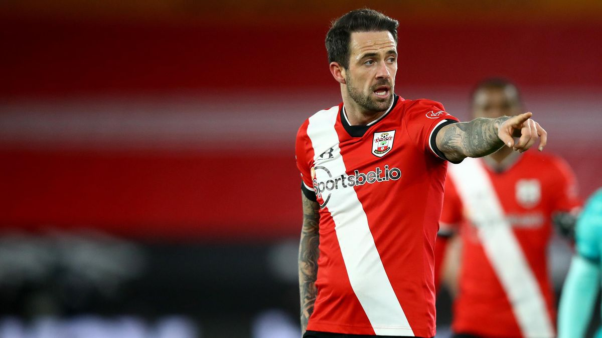 Southampton's Danny Ings in action shortly before he tested positive for Covid-19