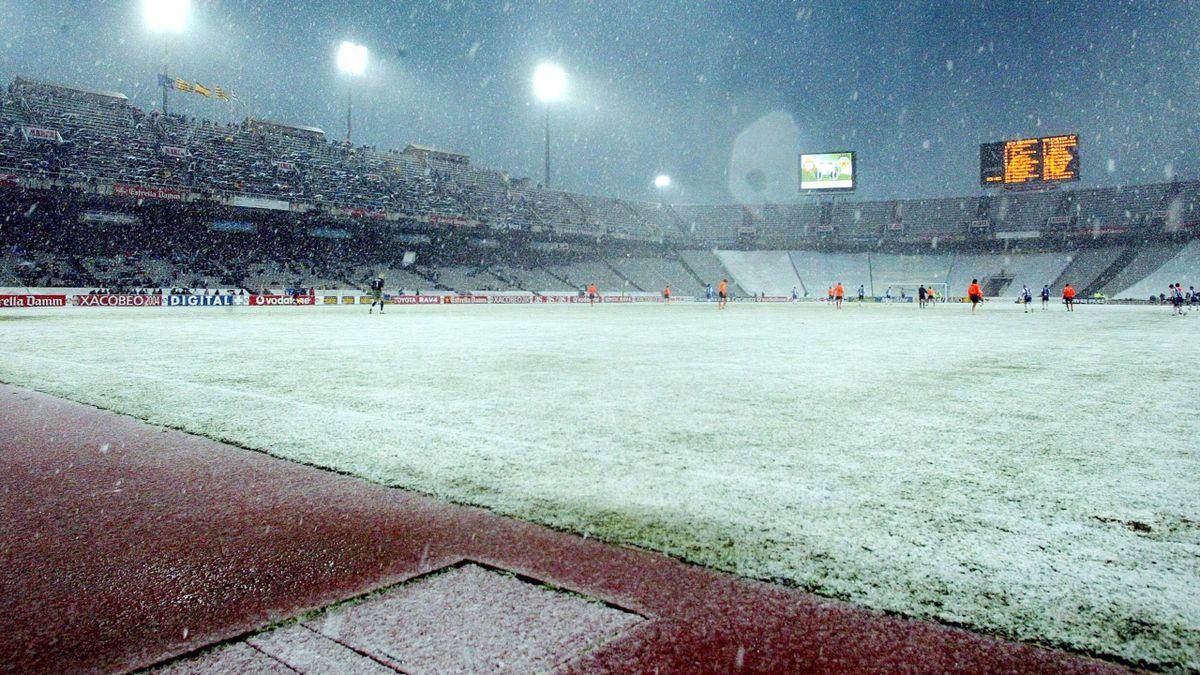Le stade de Montjuic à Barcelone.