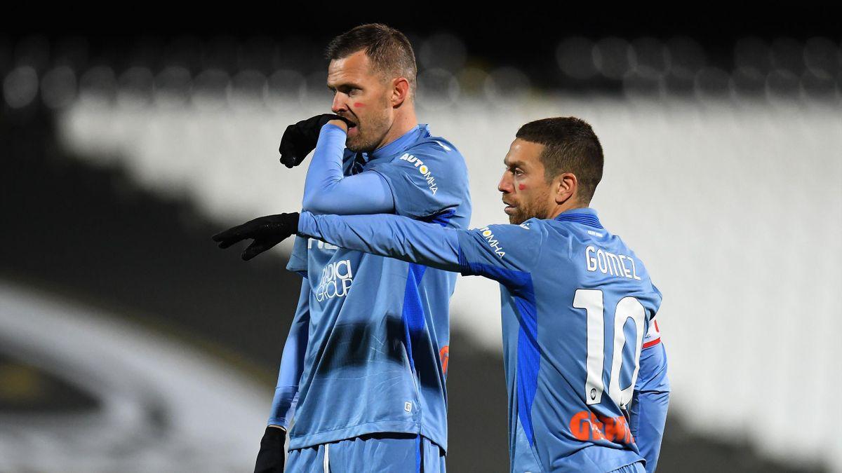 Ilicic e Gomez in Spezia-Atalanta