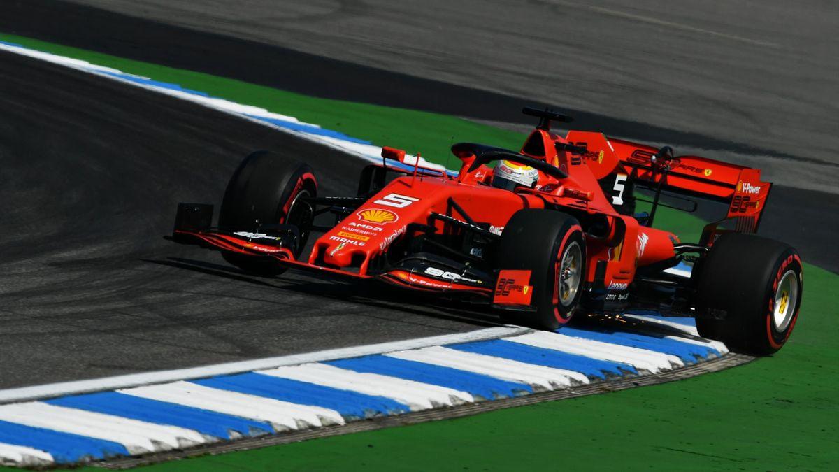 Sebastian Vettel in der Formel 1