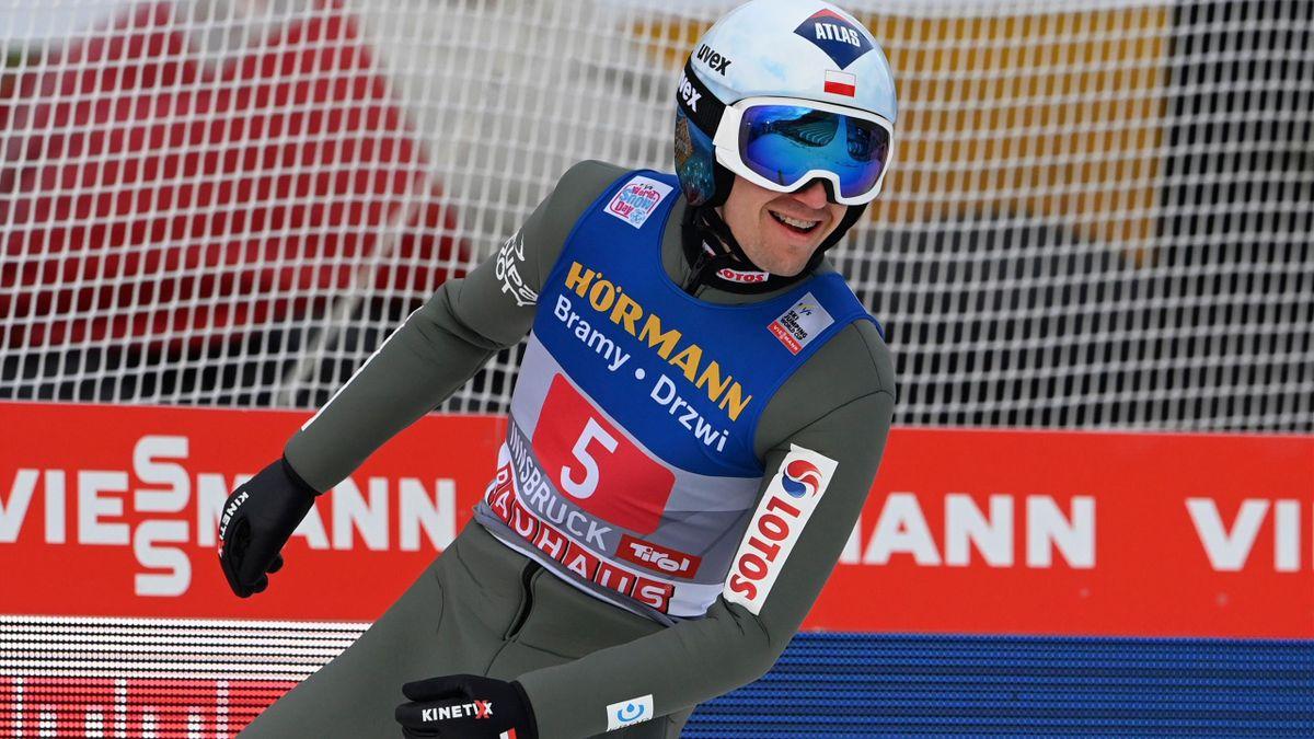 Kamil Stoch bei der Vierschanzentournee 2020/21