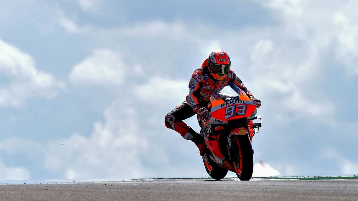 Marc Marquez (Grand Prix d'Aragaon)
