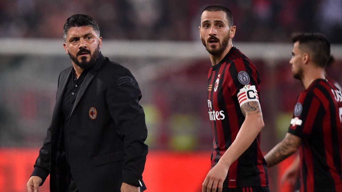 Gennaro Gattuso, Leonardo Bonucci, Milan, Getty Images