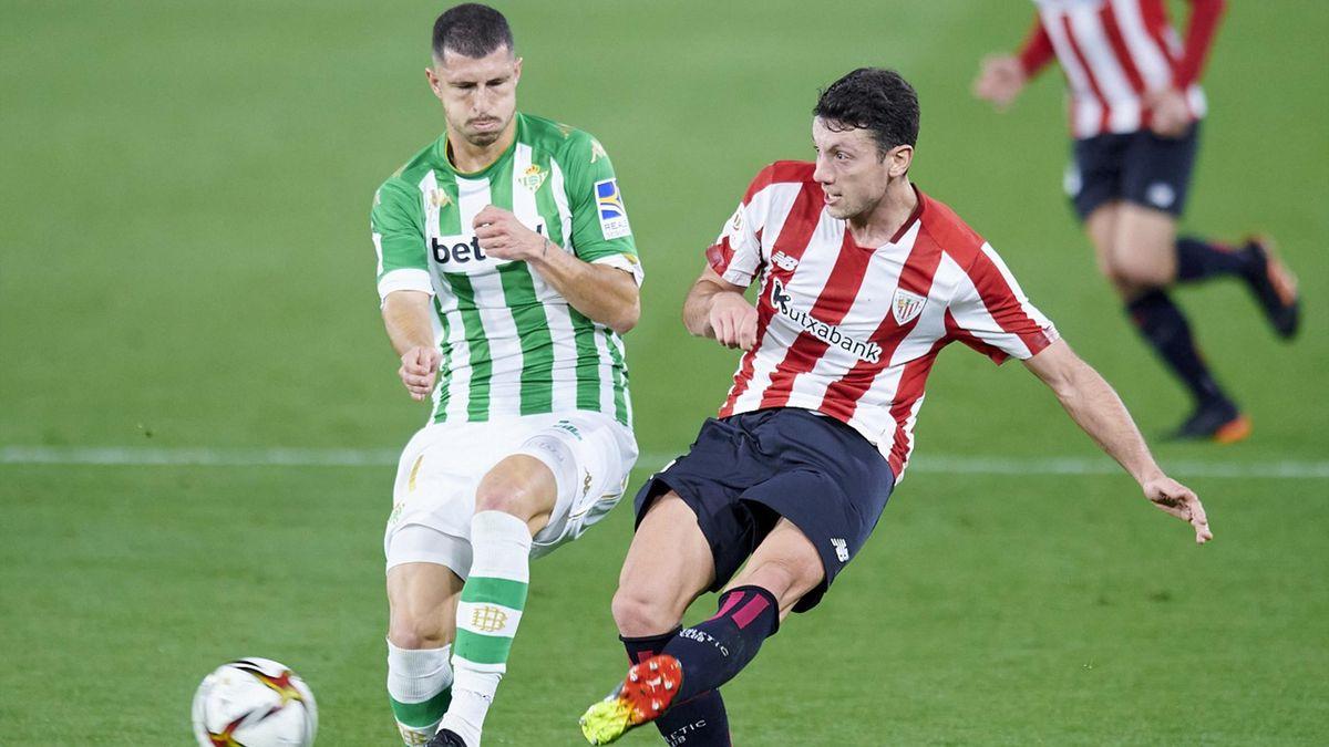 Mikel Vesga Arruti et l'Athletic Bilbao ont sorti le Betis Séville en Coupe du Roi.