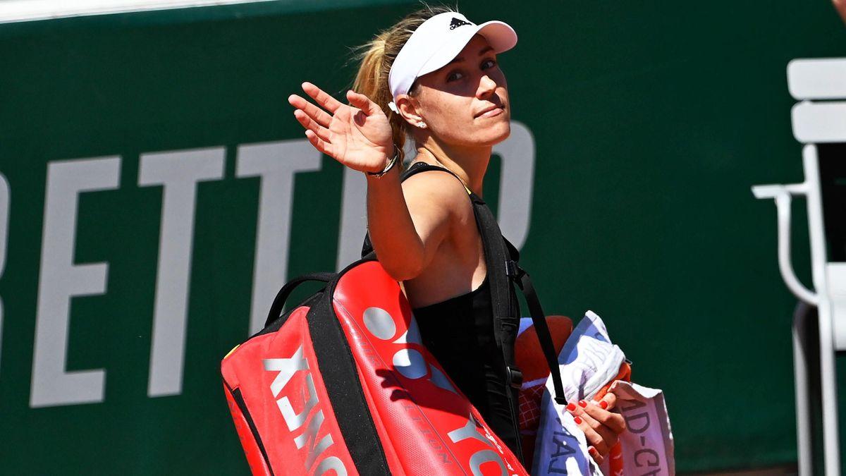 Angelique Kerber nach ihrem Aus bei den French Open