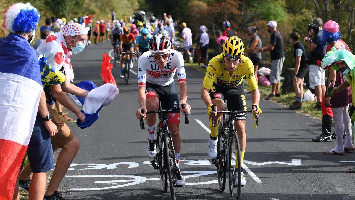 Pogacar visează la tricoul galben în Turul Franței