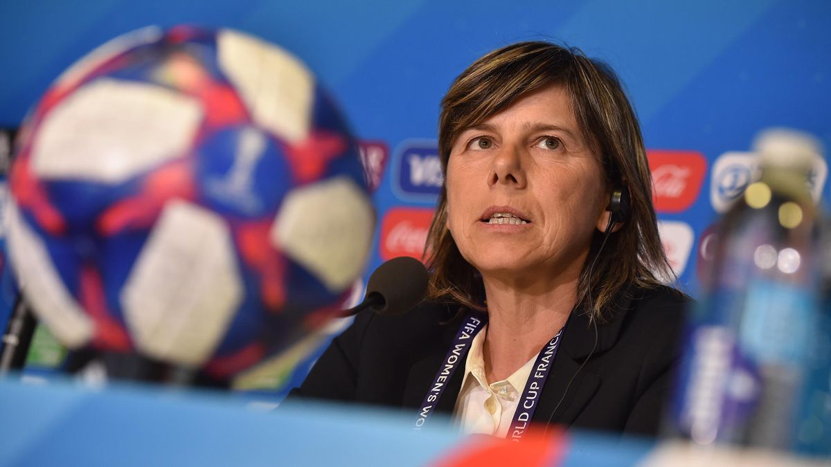 Milena Bertolini - press conference 2019 - Getty Images