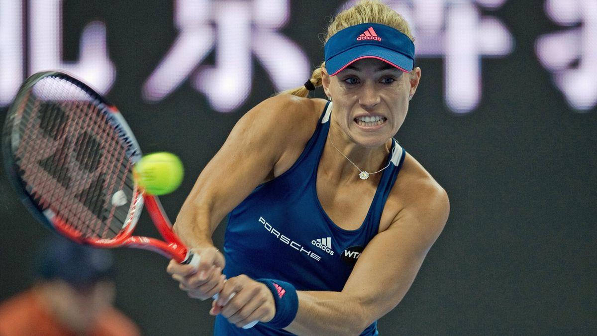 Angelique Kerber steht im Viertelfinale von Hongkong