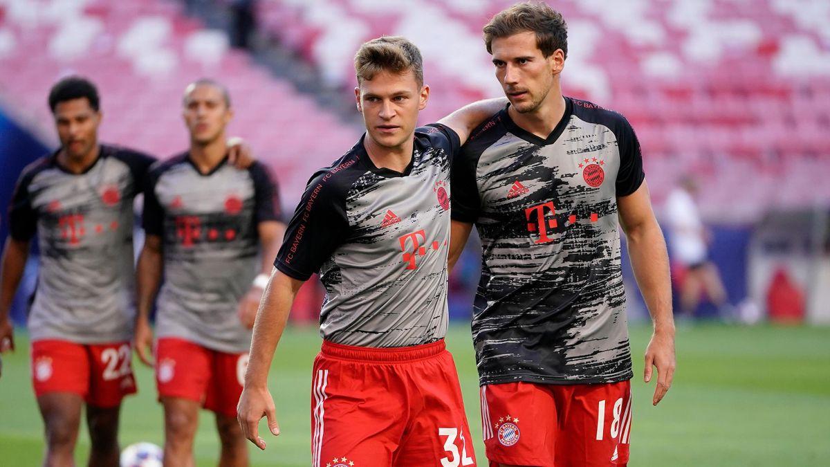 FC Bayern: Goretzka erklärt, welchen Einfluss Kimmich auf seine  Verlängerung in München hatte - Eurosport