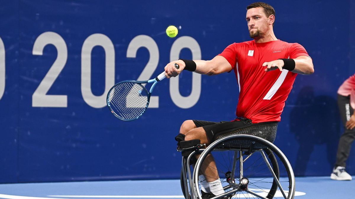 Joachim Gérard bei den Paralympics in Tokio