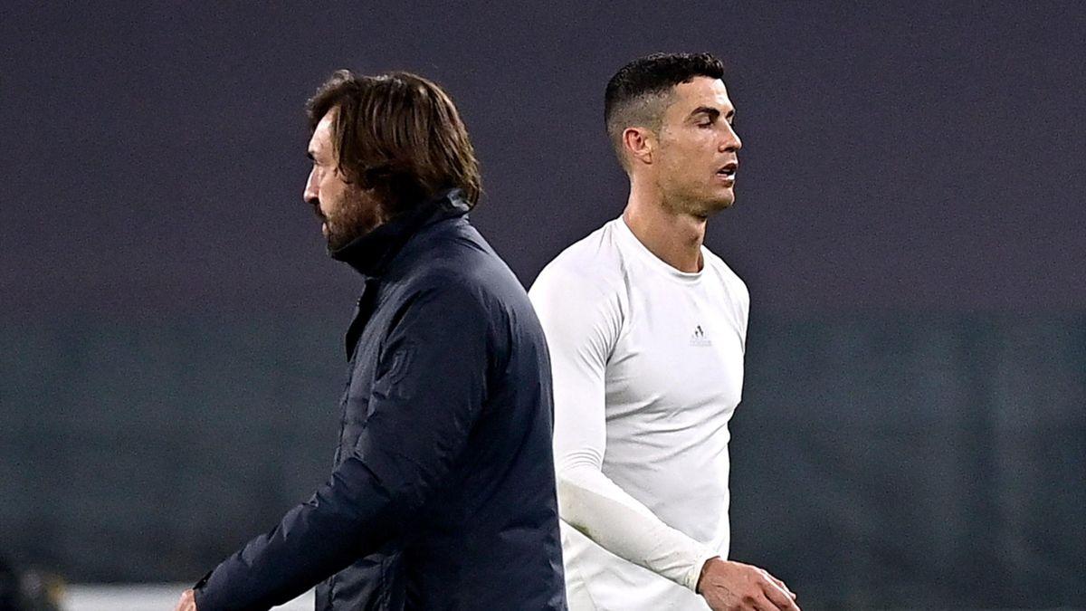 Cristiano Ronaldo nu a avut o relație bună cu Andrea Pirlo, Getty Images