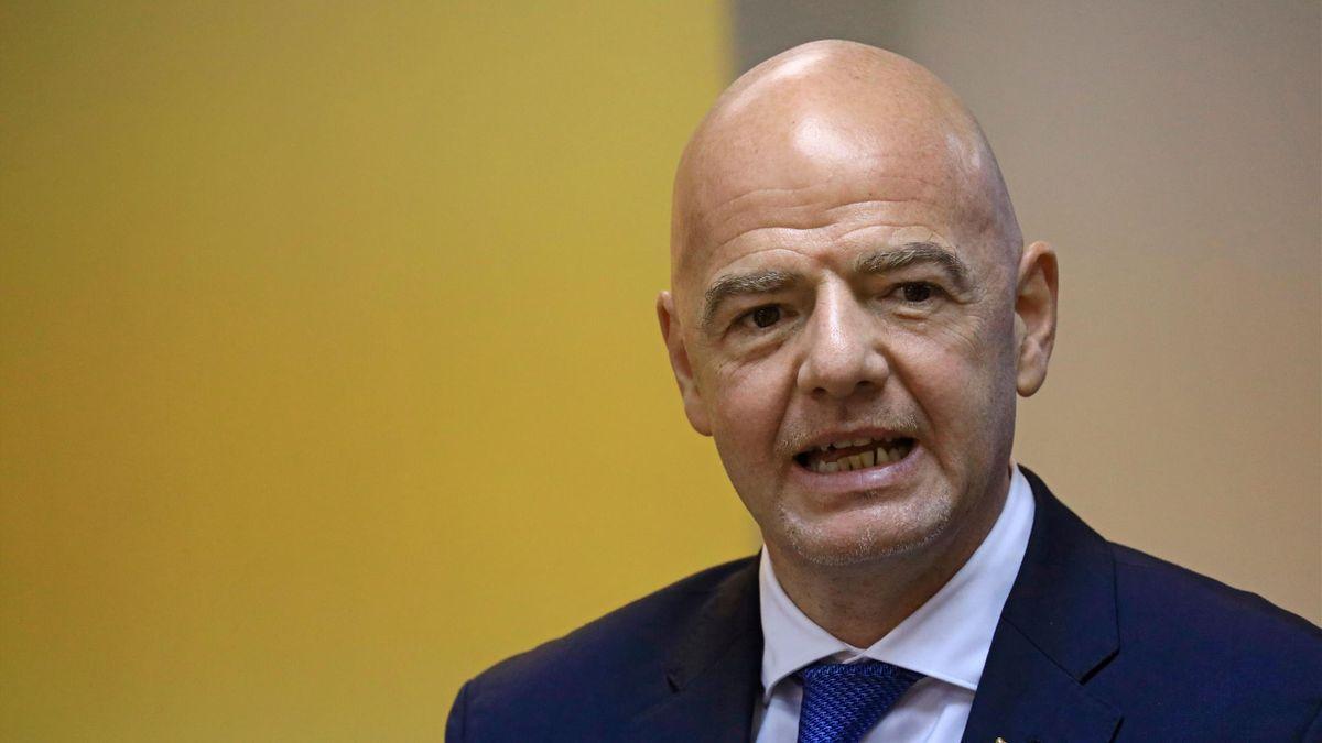 Gianni Infantino, FIFA-Präsident