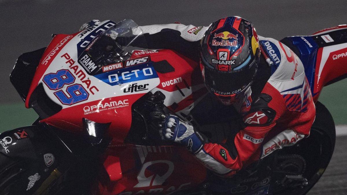 Jorge Martin durante il Gran Premio del Qatar - Getty Images
