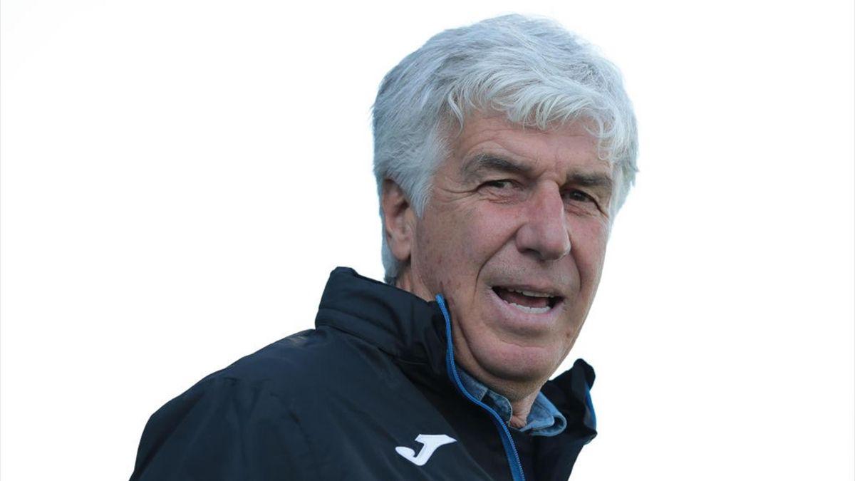 Il tecnico dell'Atalanta Gian Piero Gasperini - Stagione 2020-21