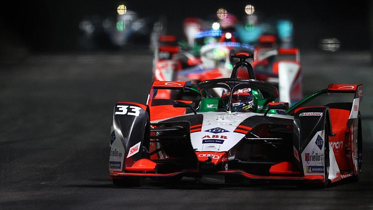 Audi-Pilot René Rast beim Diriyah ePrix 2021