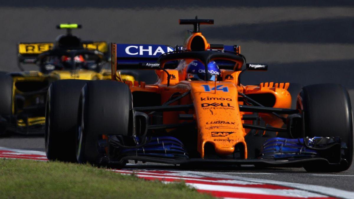 Fernando Alonso (McLaren-Renault) - Gran Premio de China 2018