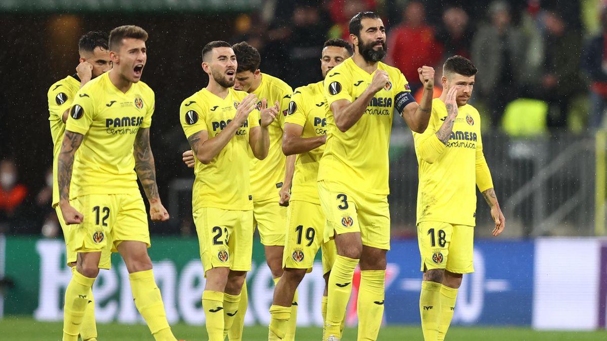La gioia del Villarreal, Europa League, Getty Images