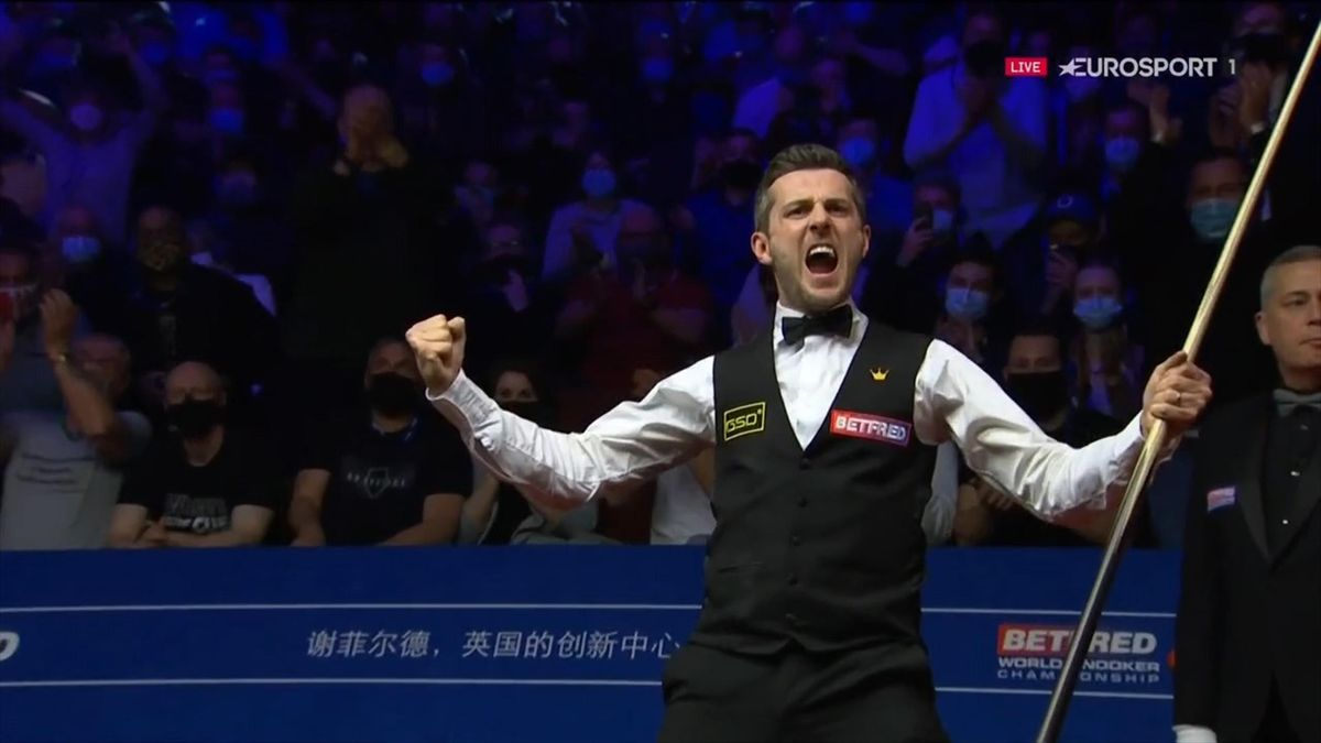 Watch the moment Selby clinches fourth world title at Crucible