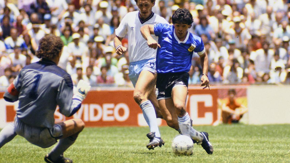 Diego Maradona, il gol del secolo