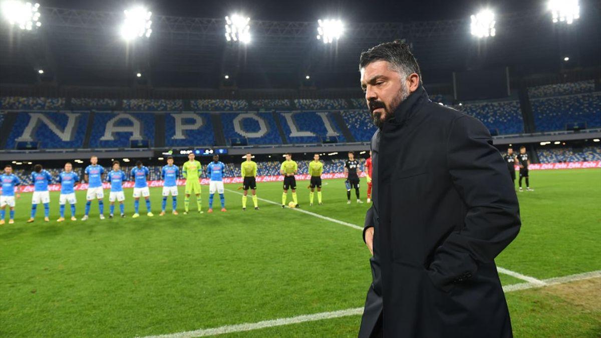 Gennaro Gattuso - Napoli-Empoli - Coppa Italia 2020-2021