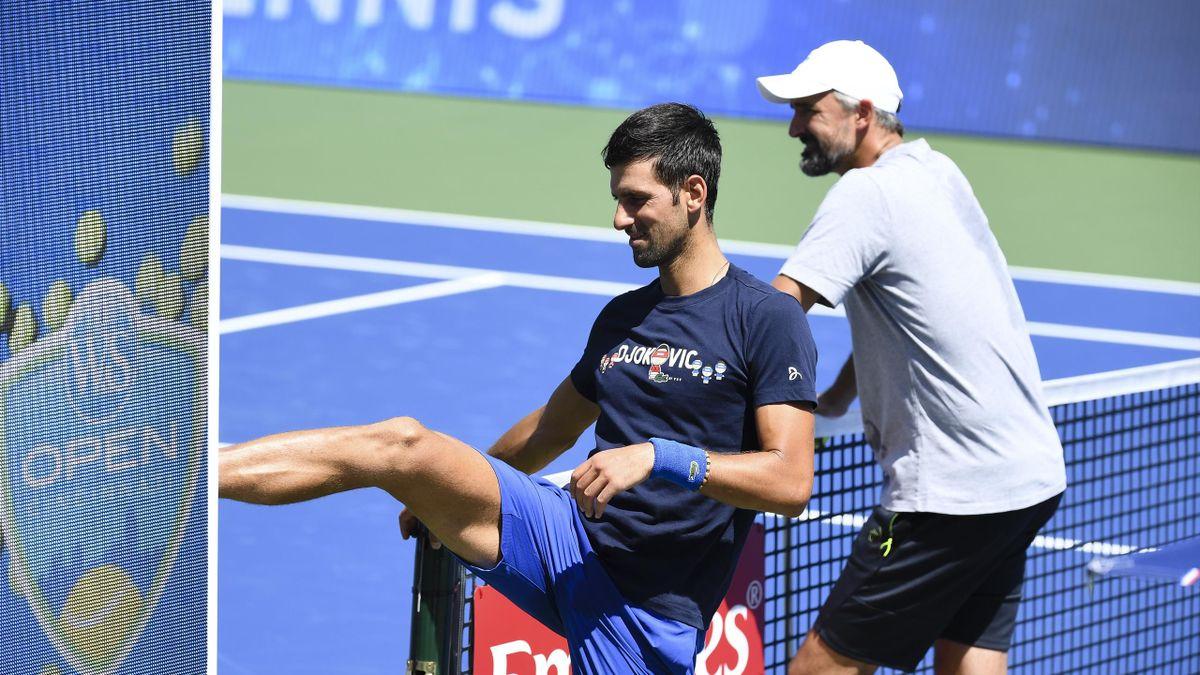 Novak Djokovic, Goran Ivanisevic