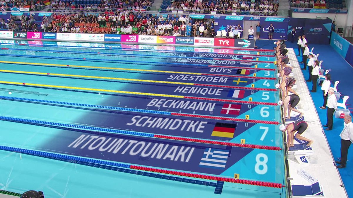 European Championship : 50m butterfly women