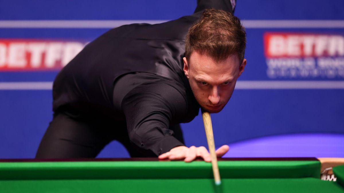 Judd Trump bei der Snooker-WM 2021