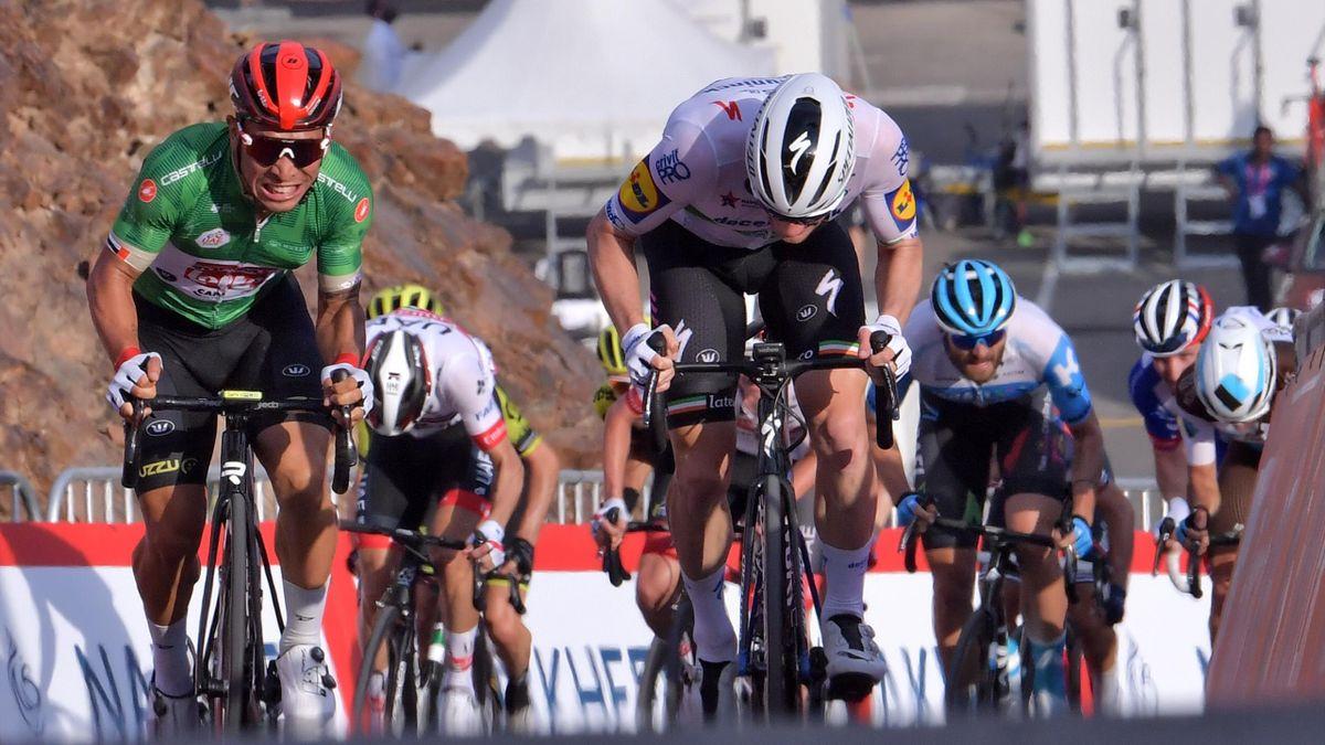 Caleb Ewan vence a Sam Bennett en la 2ª etapa del UAE Tour 2020