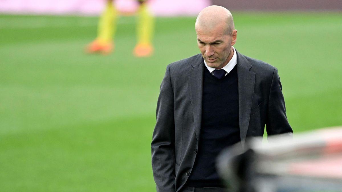 Trainer Zinédine Zidane lässt seine Zukunft bei Real Madrid offen