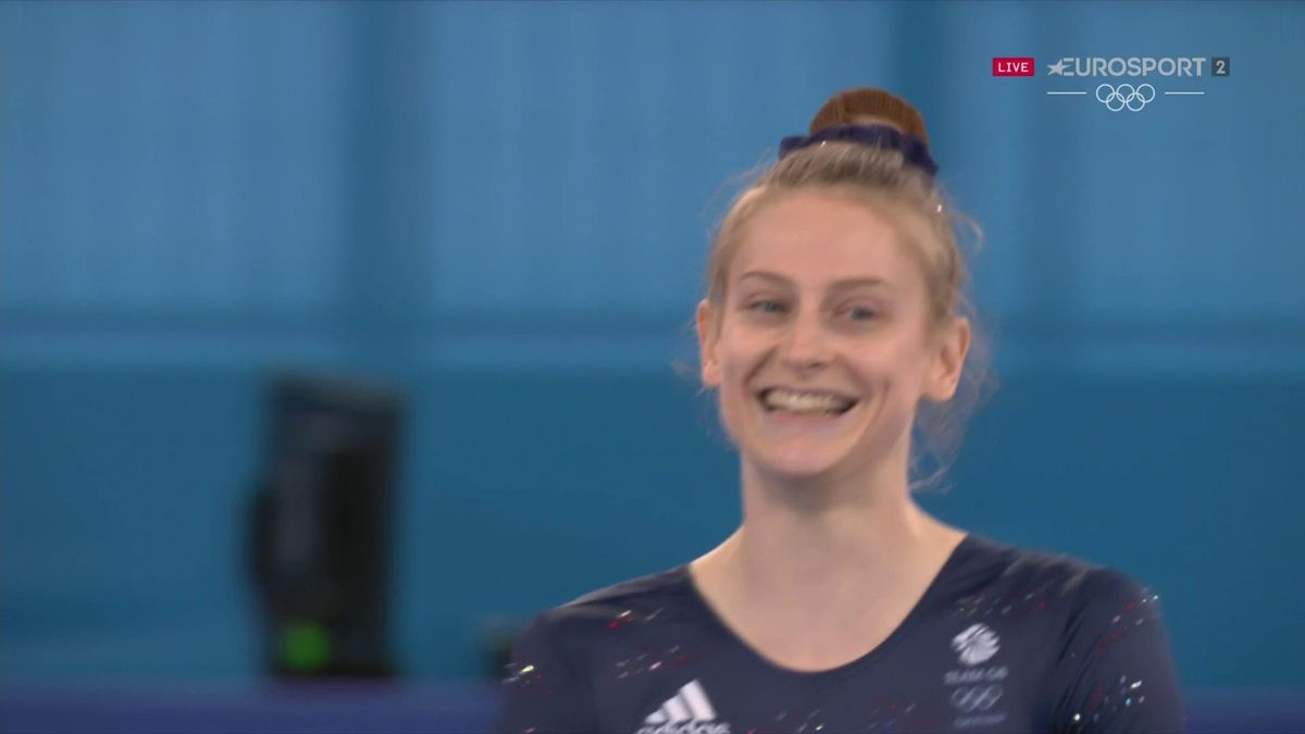 'It's good!' - Page nails routine to grab trampolining bronze medal