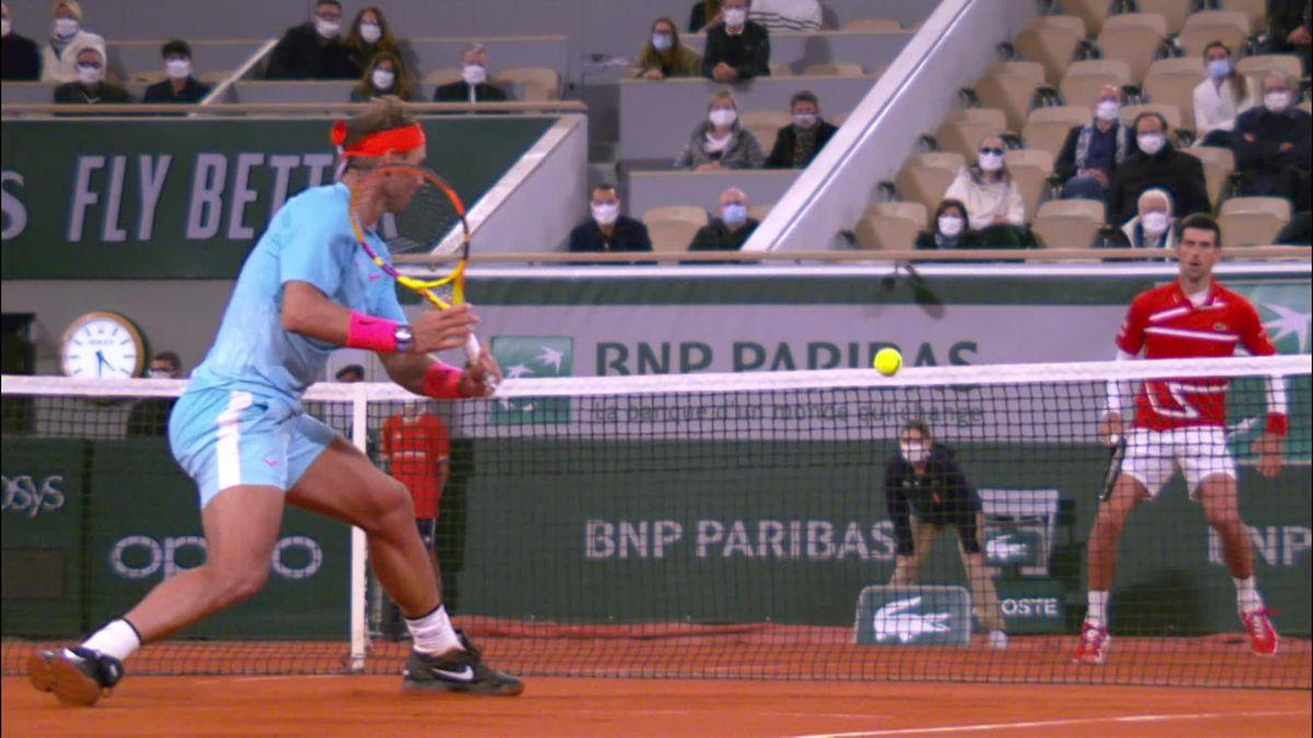 Roland Garros : Nadal-Djokovic Passing Shot