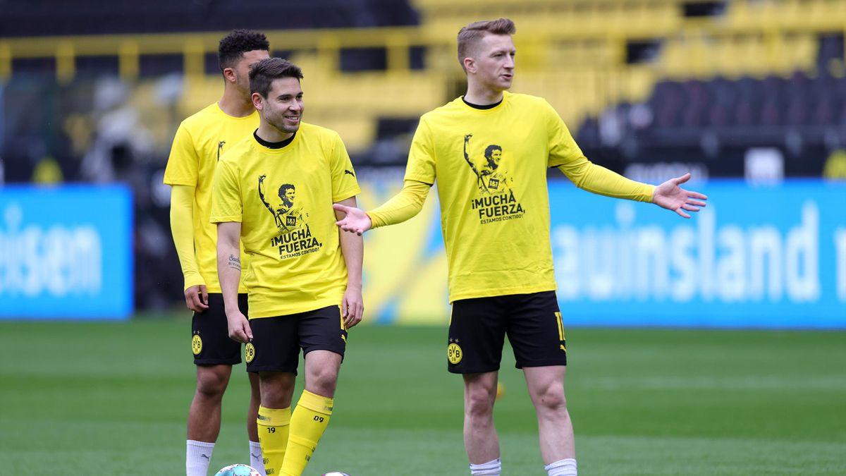 Raphael Guerreiro (links) und Marco Reus - Borussia Dortmund