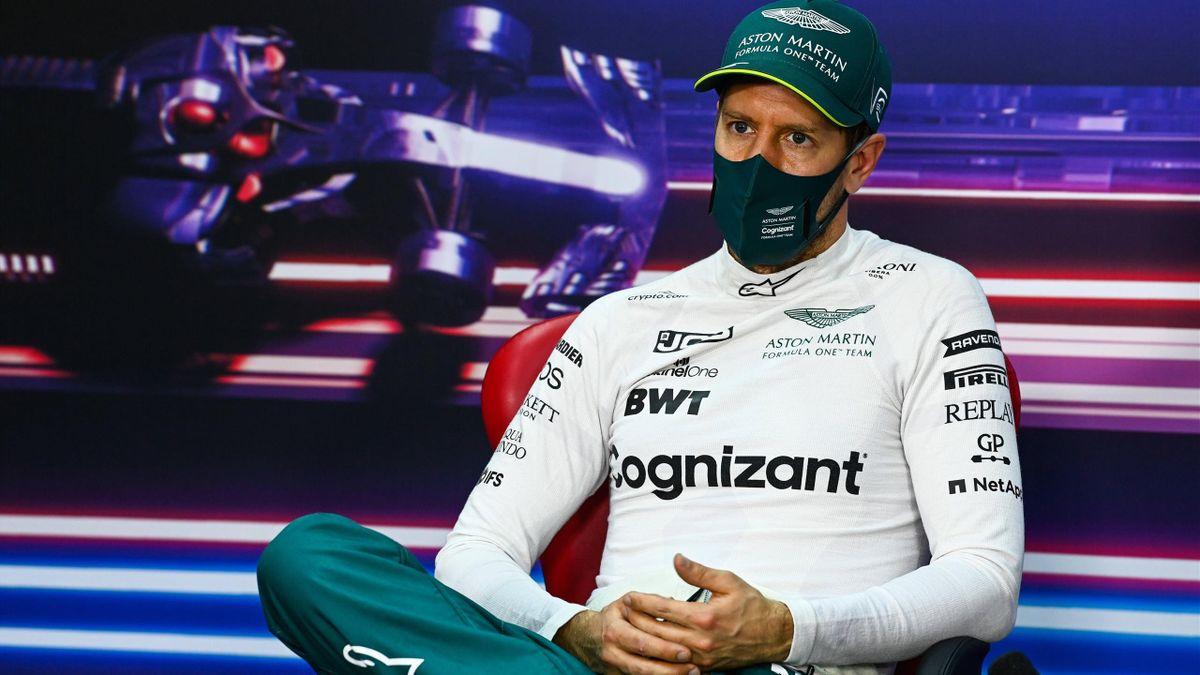 Sebastian Vettel (Aston Martin) erlebte in Bahrain einen Katastrophen-Start