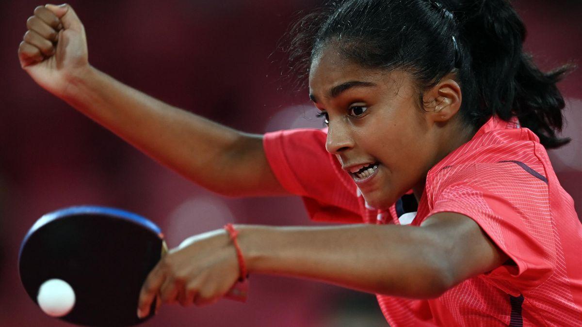 A 16 ans, Prithika Pavade s'incline au premier tour du tournoi olympique des JO de Tokyo