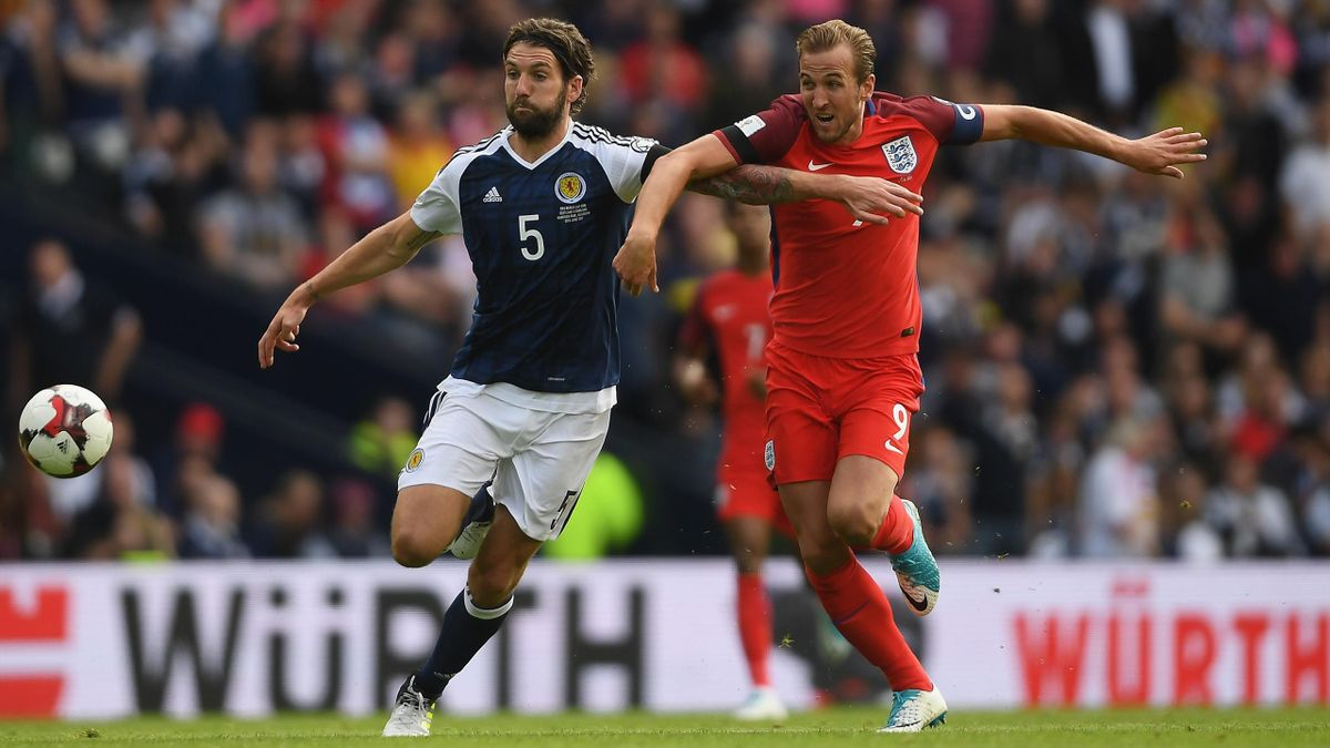 Harry Kane et l'Angleterre retrouveront l'Ecosse en phase de poules de l'Euro 2020.