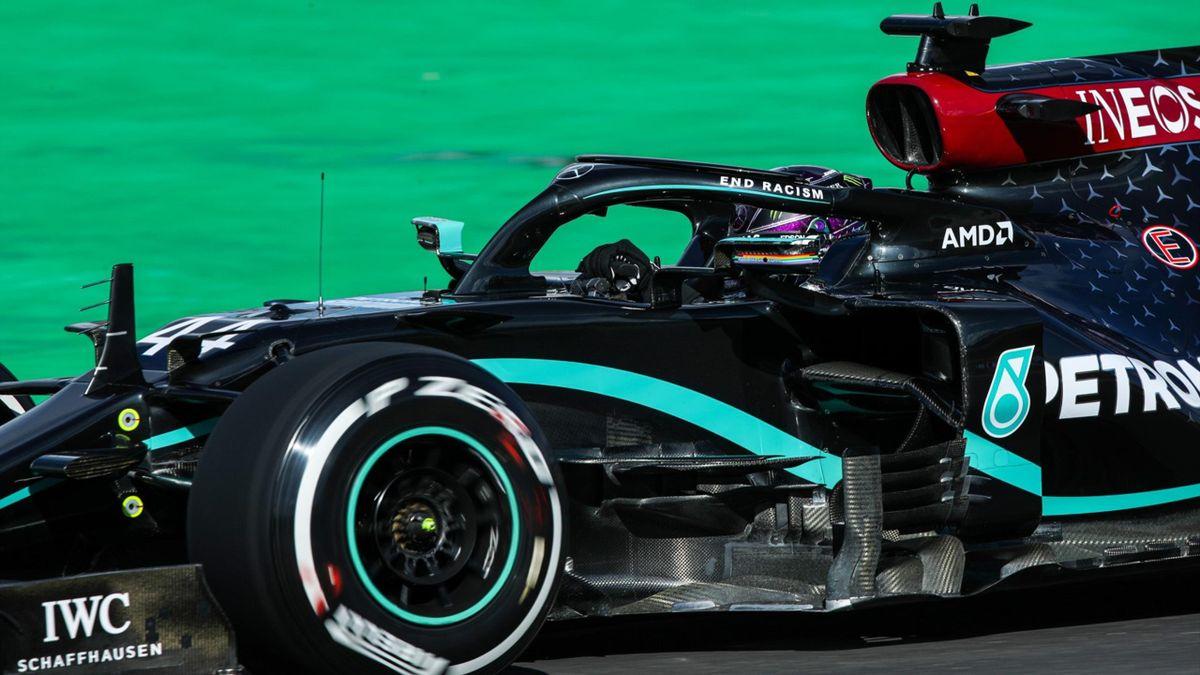 Lewis Hamilton (Mercedes) - GP Portugalia 2020