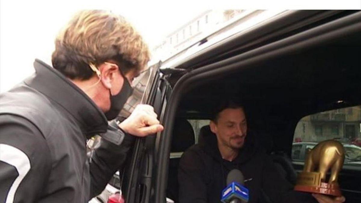 Zlatan Ibrahimovic, ecco il Tapiro d'Oro