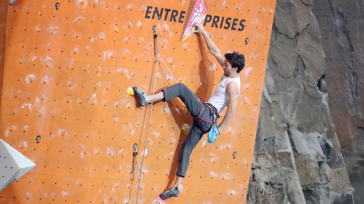 IFSC Climbing World Cup - Edinbungh Intrnational Cimbing Arena - L'atleta azzurro Stefano Ghisolfi (LaPresse)
