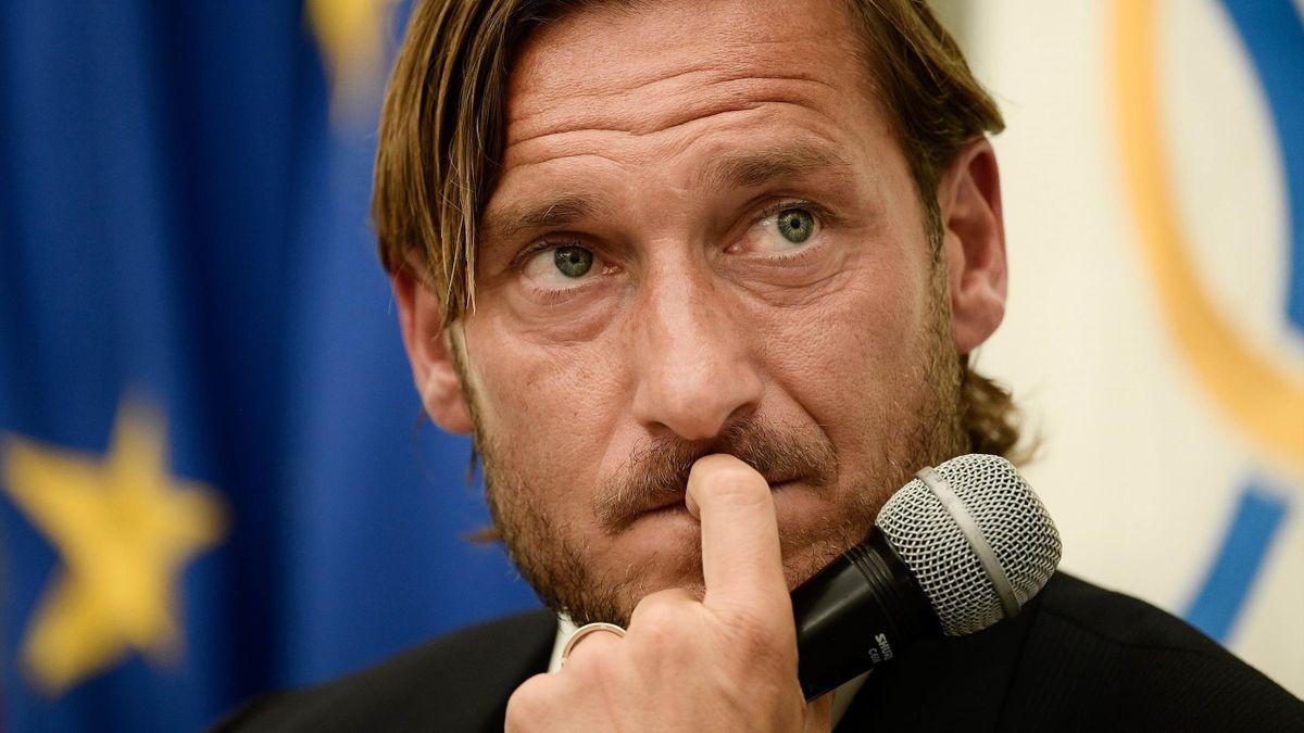 Francesco Totti, conferenza stampa addio (2019)