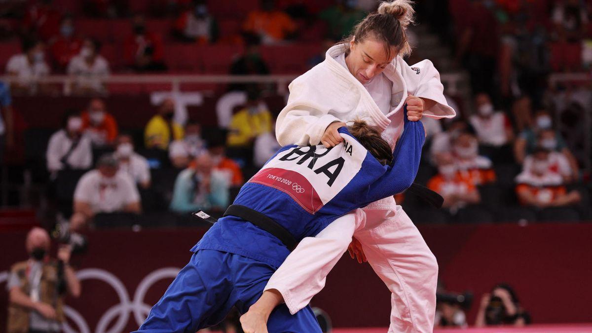 Distria Krasniqi (Kosovo), championne olympique