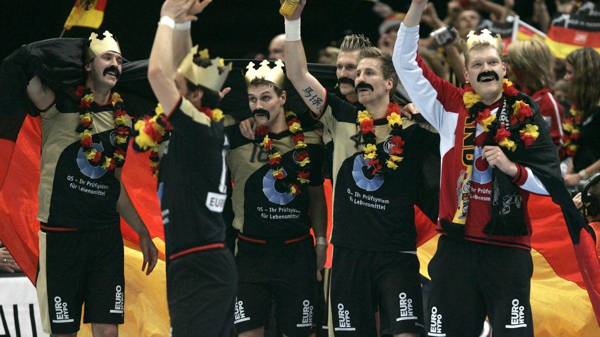 Die Handballer jubeln über WM-Gold