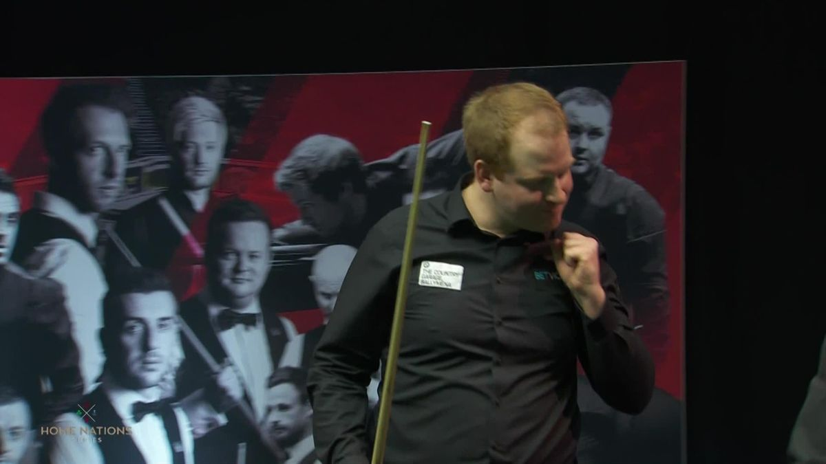 'Get in there!' - The moment Brown shocked O'Sullivan to win Welsh Open title