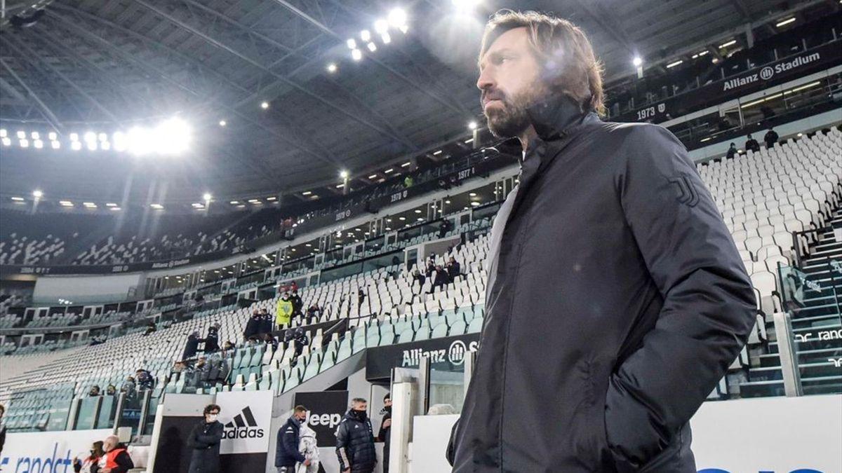 Pirlo - Juventus-Fiorentina - Serie A 2020/2021 - Getty Images