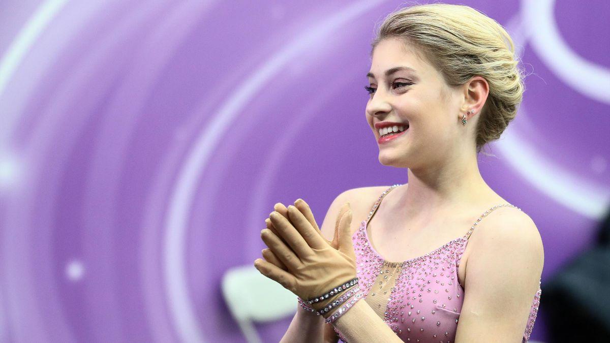 Алена Косторная, Россия, московский этап Гран-при