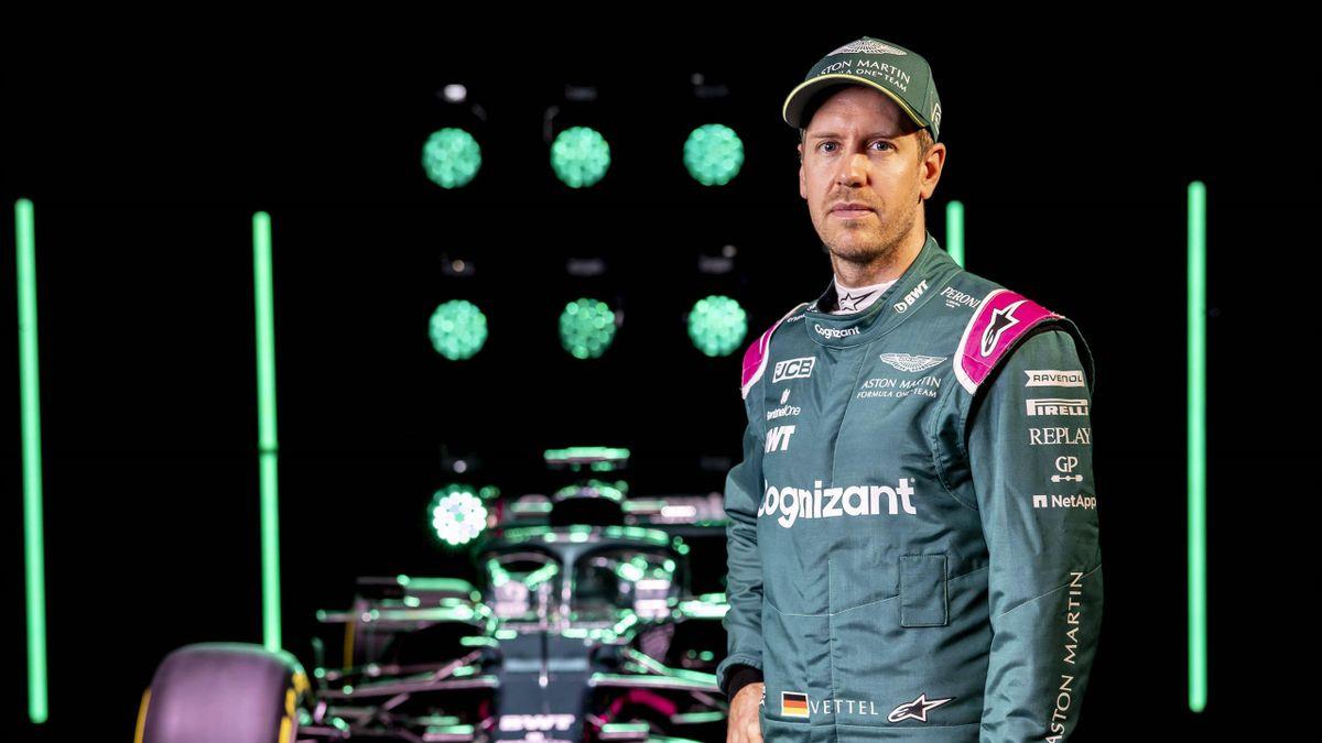 Sebastian Vettel geht ab 2021 für Aston Martin in der Formel 1 an den Start
