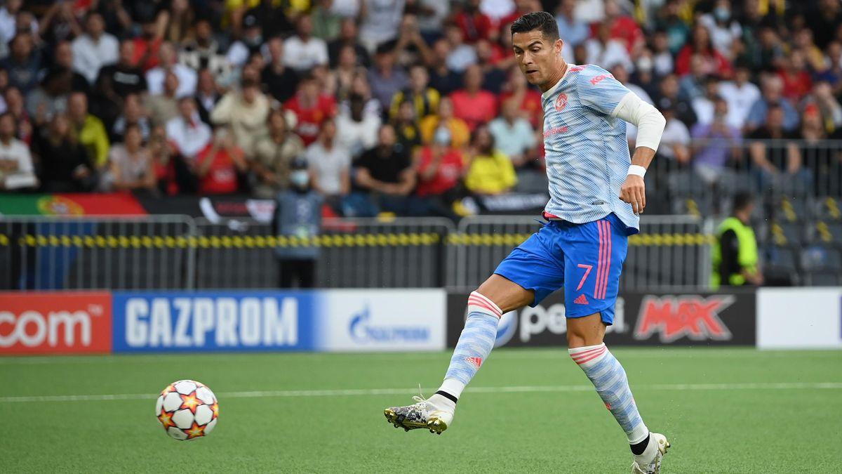 Cristiano Ronaldo im Champions-League-Spiel gegen die Young Boys Bern