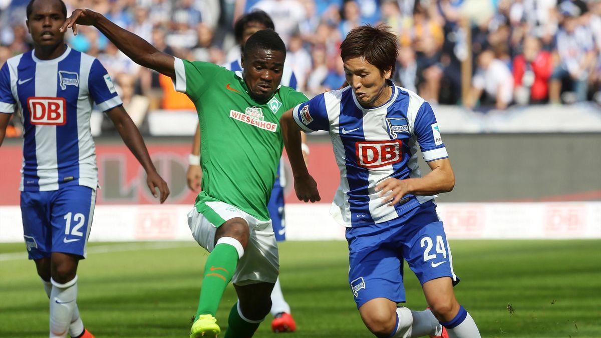 Hertha BSC Berlin gegen Werder Bremen