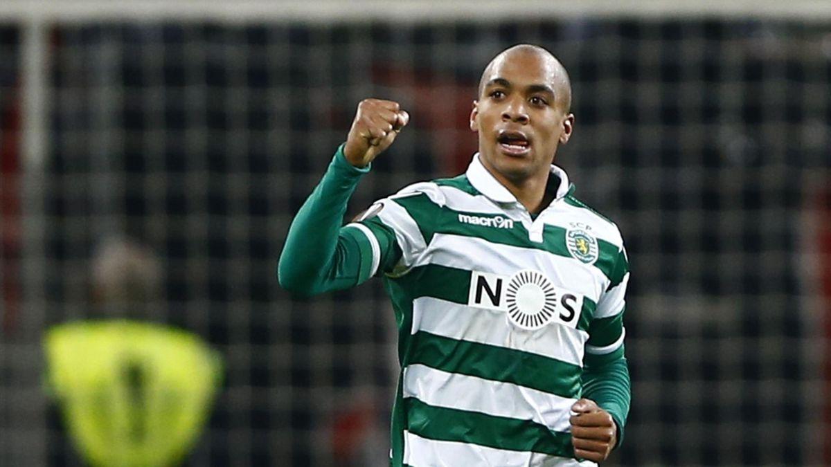 Sporting Lisbon's Joao Mario